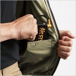 [在庫限り]AC1121P バートル エアークラフト[空調服]ハーネス対応 迷彩 長袖ブルゾン(男女兼用) ポリ100% バッテリー収納ポケット(ドットボタン止め)