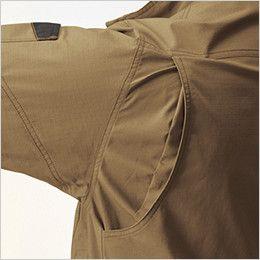 AC1131 バートル エアークラフト[空調服]長袖ブルゾン(男女兼用) 綿100% 背アームノーフォーク