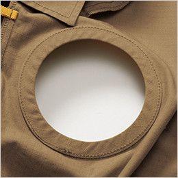 AC1131 バートル エアークラフト[空調服]長袖ブルゾン(男女兼用) 綿100% 背中ファン取付口