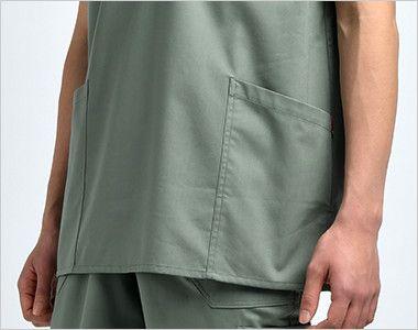 7033SC FOLK(フォーク)×Dickies スクラブ(男女兼用) ポケット付き