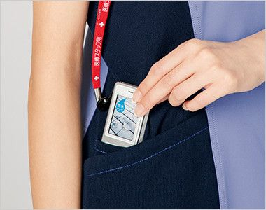 [在庫限り]CH750 FOLK(フォーク)×CHEROKEE(チェロキー) レディーススクラブ(女性用)  便利な小分けポケット