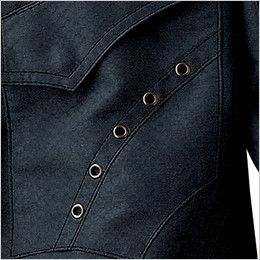 自重堂 51604 [秋冬用]JAWIN 長袖シャツ(年間定番生地使用) 5蓮アイレット