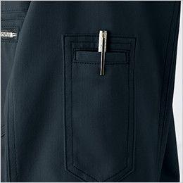 自重堂 51804 [秋冬用]JAWIN 長袖シャツ(年間定番生地使用)(新庄モデル)  ペン差し