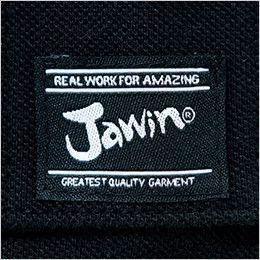 自重堂 55354 [春夏用]JAWIN 鹿の子半袖ポロシャツ ワンポイント