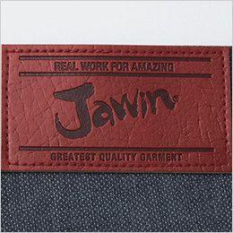 自重堂JAWIN 56402 [春夏用]ノータックカーゴパンツ(新庄モデル) 革ラベル