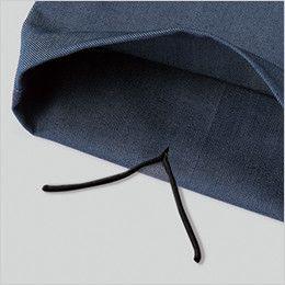 自重堂JAWIN 56402 [春夏用]ノータックカーゴパンツ(新庄モデル) 裾紐通し穴