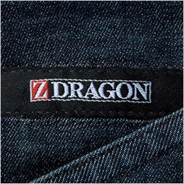 自重堂 75602 [春夏用]Z-DRAGON ストレッチデニムノータックカーゴパンツ ワンポイント