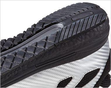 自重堂Z-DRAGON S7183 耐滑セーフティシューズ(ミドルカット) スチール先芯 クッション性の高いEVAミッドソール・水や油に強い耐滑ソール