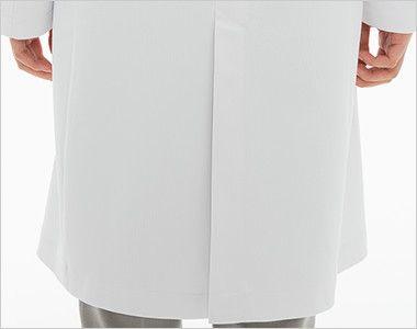 SD3040 ナガイレーベン(nagaileben) シングル診察衣長袖(女性用) 座るときにしわになりにくいセンターベンツ