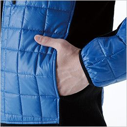4226 TS DESIGN マイクロリップロングスリーブジャケット(男女兼用) ポケット