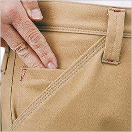 ジーベック 210 綿100%防寒パンツ コインポケット