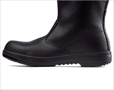 ジーベック 85024 安全半長靴 樹脂先芯 軽量でクッション性に優れたウレタン2層底