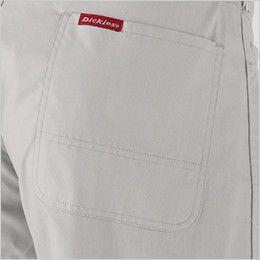 21-713 ディッキーズ [春夏用]半袖ストライプツナギ ヒップポケット