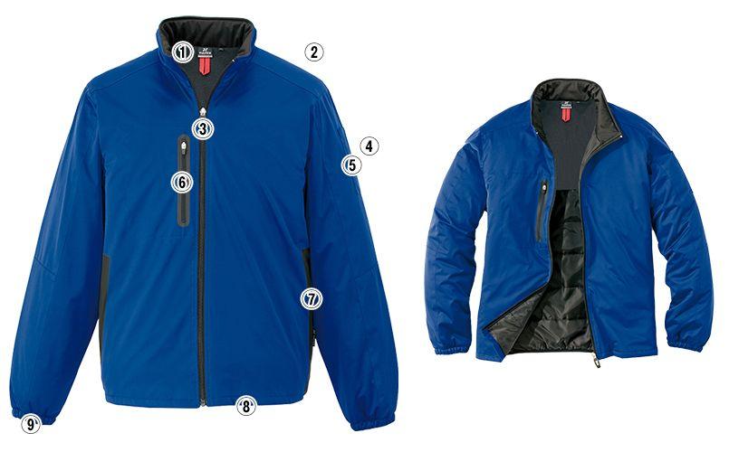 AZ10307 アイトス タルテックス [秋冬用]軽量防寒ジャケット 商品詳細・こだわりPOINT