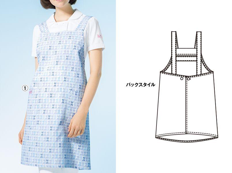 HI501 ワコール 胸当てレディースエプロン(女性用) 商品詳細・こだわりPOINT