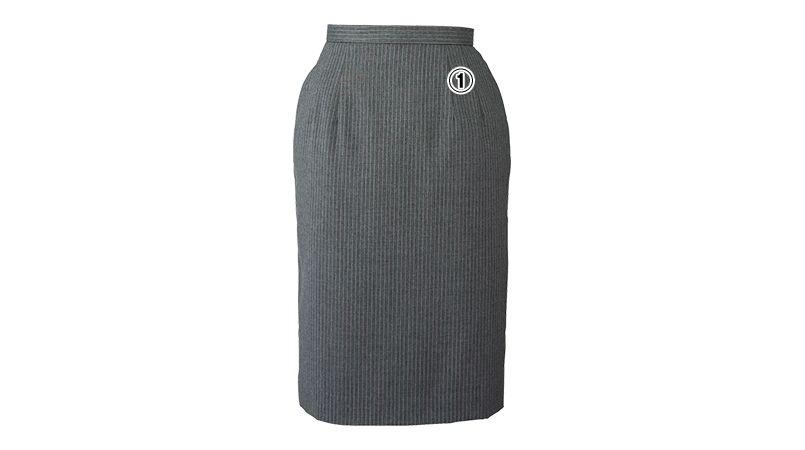 en joie(アンジョア) 51490 [通年]ラベンダーストライプのストレッチで動きやすいスカート 商品詳細・こだわりPOINT