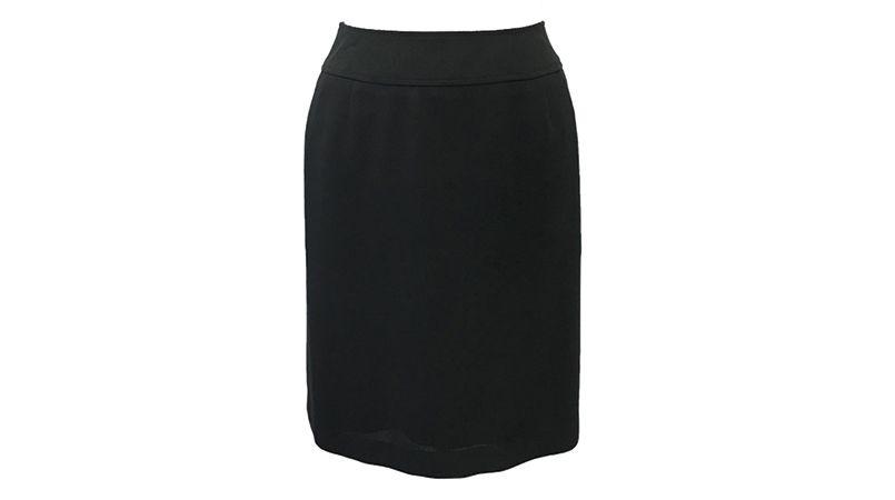 S-15740 SELERY(セロリー) [春夏用]立体設計でお腹をカバーしてスッキリ見せるセミAラインのスカート 無地 商品詳細・こだわりPOINT