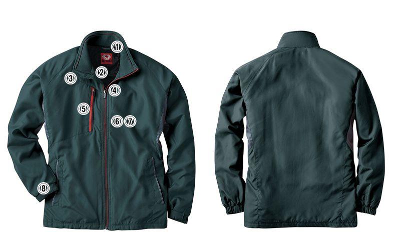 43800 桑和 かっこいい防寒ジャケット 商品詳細・こだわりPOINT