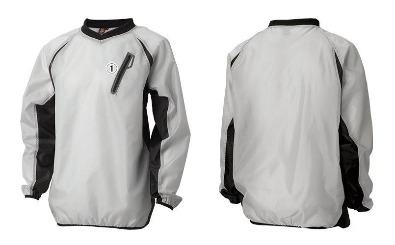 84335 TS DESIGN リップストップ ウインドブレーカーシャツ(男女兼用) 商品詳細・こだわりPOINT