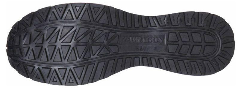 S1173 自重堂Z-DRAGON セーフティシューズ スチール先芯 アウトソール・靴底