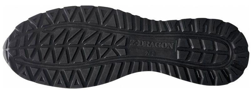 自重堂Z-DRAGON S3161 耐滑・軽量のセーフティスニーカー 樹脂先芯 アウトソール・靴底