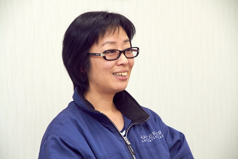 ユニフォーム制作を担当された、株式会社ハセッパー技研の経営企画室室長諏訪部様